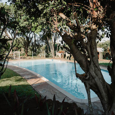 Characters Garden Park pool pennington